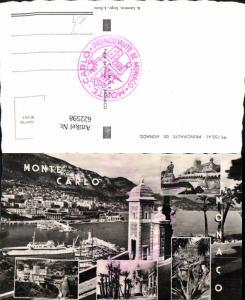 622598,Mehrbild Ak Monte Carlo Monaco Principaute de Monaco