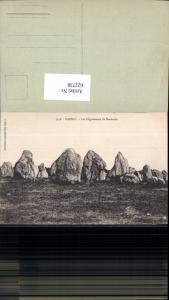 622738,Carnac Les Alignements de Kermario Felsen Gesteinsformation France