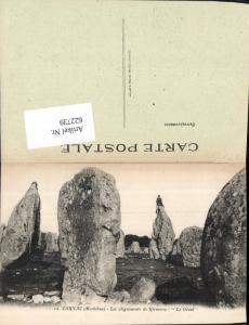 622739,Carnac Morbihan Les alignements de Kermario Felsen Gesteinsformation France