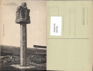 622742,Carnac Calvaire du Mont St-Michel Kreuz France
