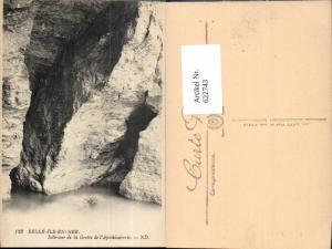 622743,Belle-Isle-en-Mer Interieur de la Grotte de l Apothicairerie France