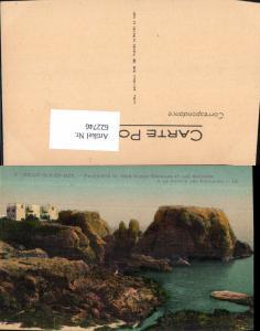 622746,Belle-Isle-en-Mer Propriete de Mme Sarah-Bernard et les Rochers a la Pointe des Poulains France