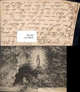622768,Lourdes Seizieme apparition La Vierge Jungfrau Erscheinung Religion