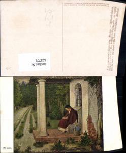 622771,Künstler Ak M. v. Schwind Die Waldkapelle pub F. A. Ackermann 213/2176b Religion