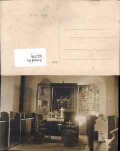 622776,Foto Ak Altar Kirche Kapelle Religion