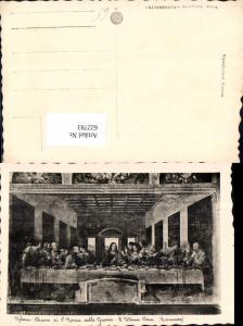 622783,Künstler Ak Leonardo S. Ultima Cena Abendmahl Chiesa di S. Maria delle Grazie Milano Religion