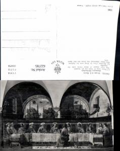 622785,Künstler Ak Domenico Ghirlandaio Das Letzte Abendmal v. Jesus m. Apostel Religion