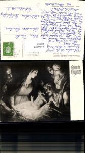 622790,Künstler Ak Sebastian Ricci Geburt Christi Religion
