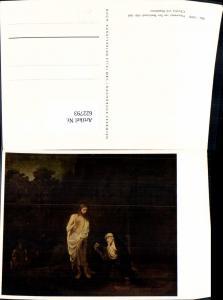 622793,Künstler Ak Harmensz van Ryn Rembrandt Christus u. Magdalena Religion