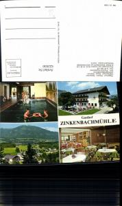 622930,Mehrbild Ak Sankt Gilgen Zinkenbach a. Wolfgangsee Gasthof Pension Zinkenbachmühle