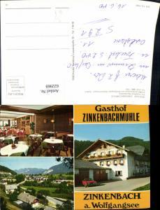 622969,Mehrbild Ak Sankt Gilgen Zinkenbach a. Wolfgangsee Gasthof Zinkenbachmühle