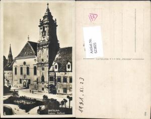 623825,Bratislava Pressburg Pozsony rathaus