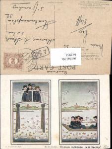 623933,Künstler AK Hildegard Willebeek Le Mair Kinder