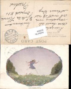 623934,Künstler AK Hildegard Willebeek Le Mair Kinder Little jumping Joan