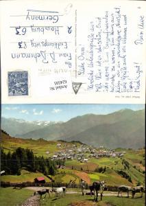624595,Serfaus Ansicht m. Kühe Rinder