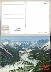 624596,Blick ins Lechtal b. Elbigenalp Winteransicht