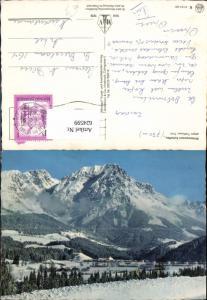 624599,Scheffau a. Wilden Kaiser geg. Treffauer Winteransicht