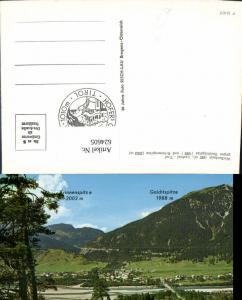 624605,Weißenbach a. Lech Lechtal geg. Gaichtspitze u. Krinnenspitze