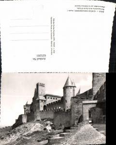 625201,Foto Ak Cite de Carcassonne Aude Chateau Comtal Burg France