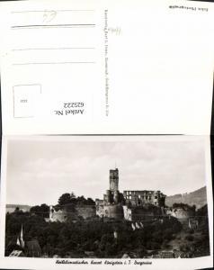 625222,Foto Ak Königstein im Taunus Burgruine Ruine Burg