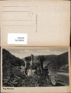 625224,Burg Rheinstein Schiffe Dampfer