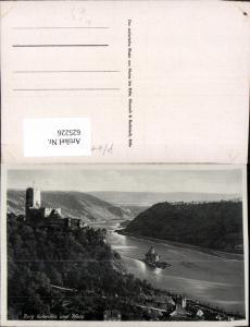 625226,Burg Gutenfels u. Pfalz b. Caub Kaub