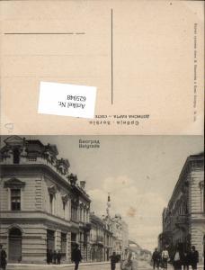 625948,Belgrad Belgrade Serbien Straßenansicht
