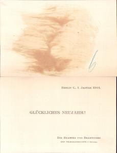 626007,Postwesen Post Berlin Telegraphenamt Börse 1904