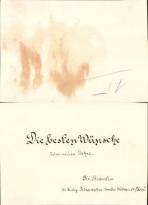 626009,Postwesen Post Budapest 1904 Telegraphen Amt Börse Neujahr