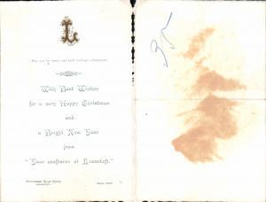 626011,Postwesen Post Lowestoft 1903 Government Relay Office