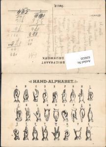 626020,Hand Alphabet Gebärdensprache Behindertensprache Handalphabet Taub Stumm