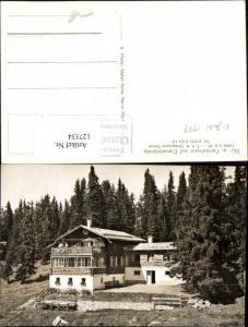 127534,Clavadeleralp Ski u. Ferienheim Davos 1957  Kt. Graubünden