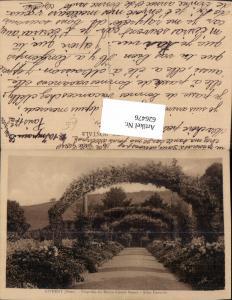 626476,Giverny Eure Propriete du Maitre Claude Monet Allee Centrale France