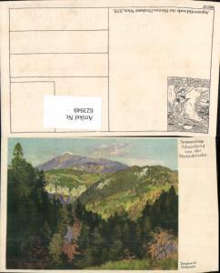 623949,tolle Künstler AK Siegfried Stoitzner Semmering Schneeberg Myrtenbrücke