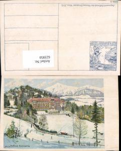 623950,tolle Künstler AK Otto Stoitzner Kurhaus Semmering