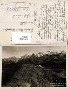 627764,Niesen-Kulm u. d. Berner Hochalpen Reichenbach im Kandertal