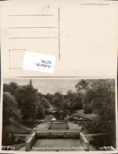 627781,Foto Ak Magdeburg Parkrestaurant Kloster Berge Garten
