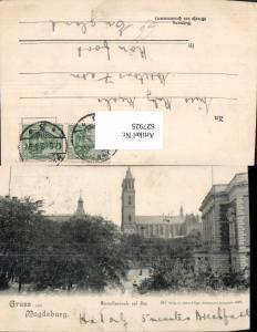627925,Litho Magdeburg Generalkommando u. Dom