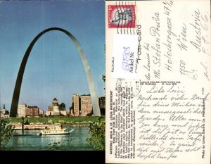 629508,St Louis Waterfront Gateway Arch Missouri