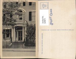 629671,Andrews-Safford Doorway Salem Massachusetts