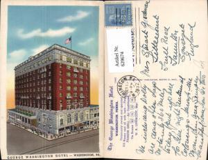 629674,George Washington Hotel Washington Pennsylvania