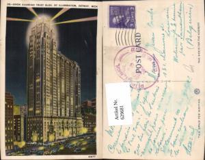 629681,Union Guardian Trust Building by Illumination Detroit Michigan