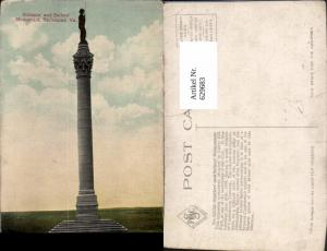 629683,Soldiers and Sailors Monument Richmond Virginia