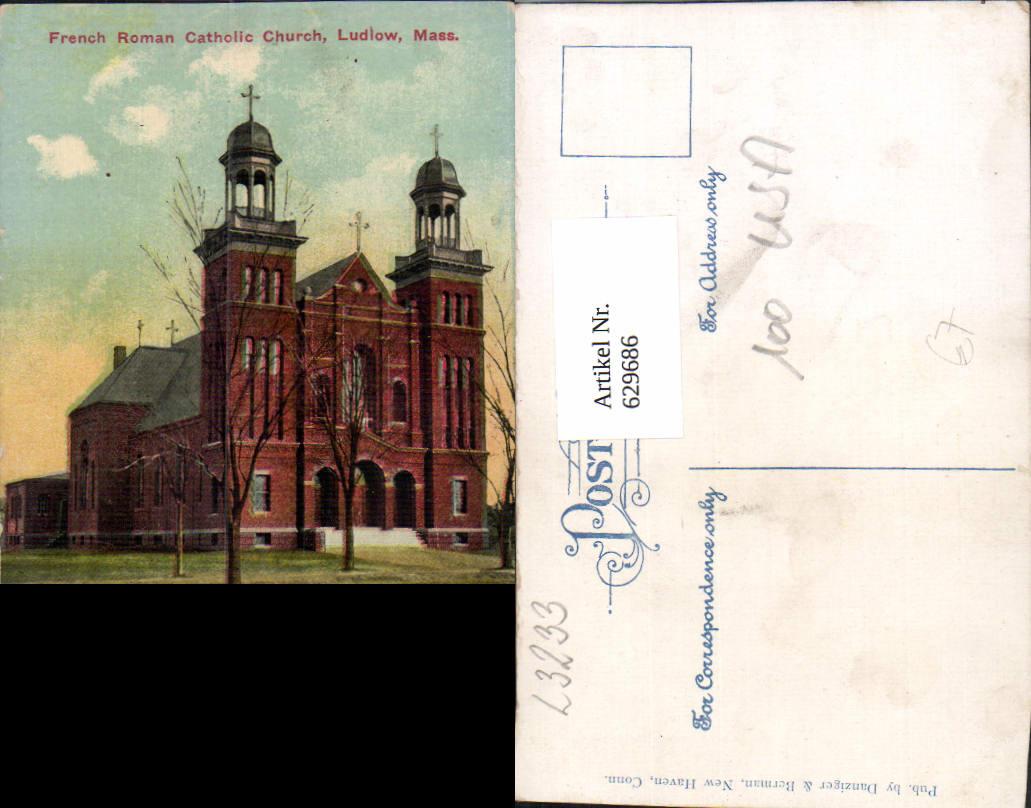 629686,French Roman Celtic Church Ludlow Massachusetts 0