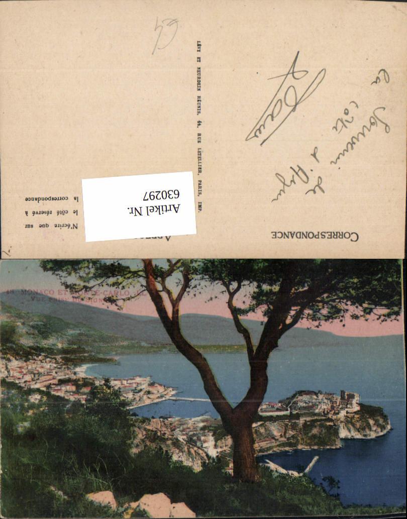 630297,Monaco et Monte-Carlo Vue prise du Signal 0