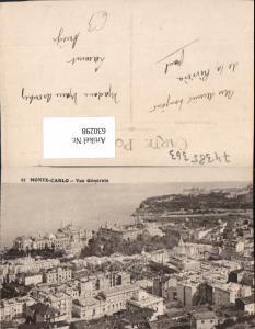 630298,Monaco Monte-Carlo Vue Generale