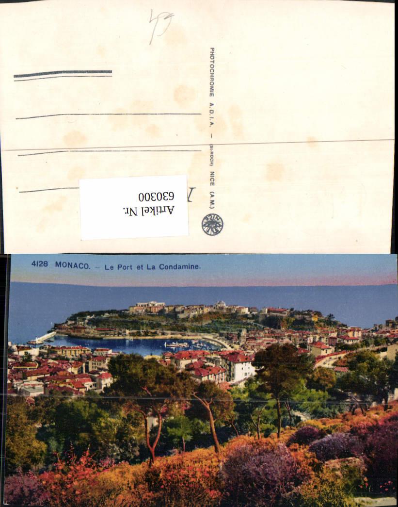 630300,Monaco Le Port et La Condamine Hafen 0