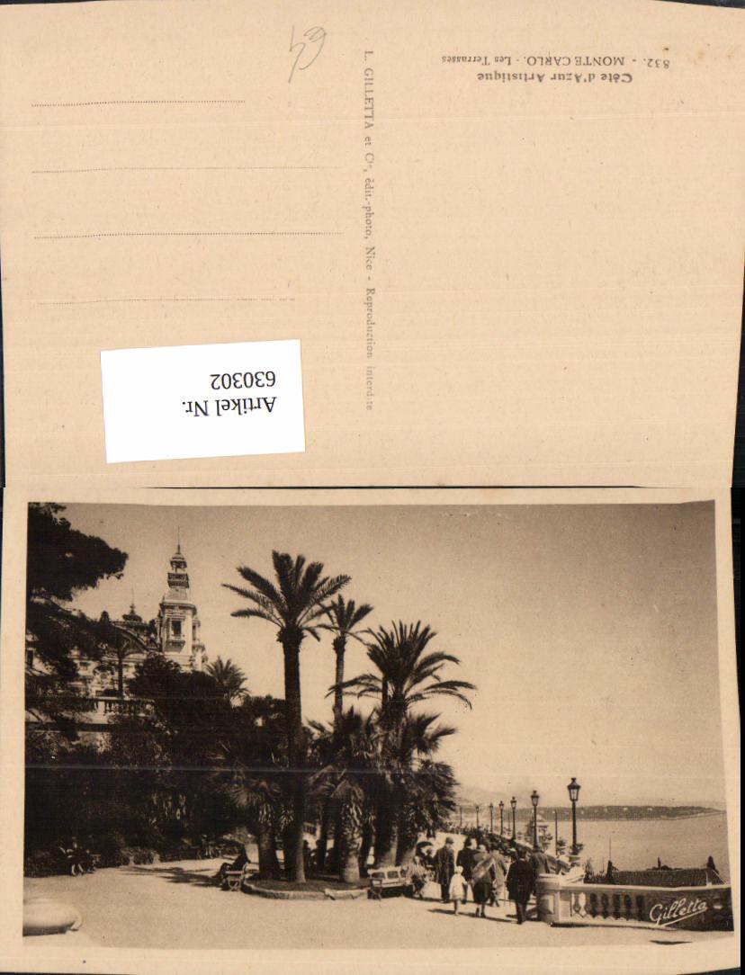 630302,Monaco Monte-Carlo Les Terrasses Cote d Azur 0