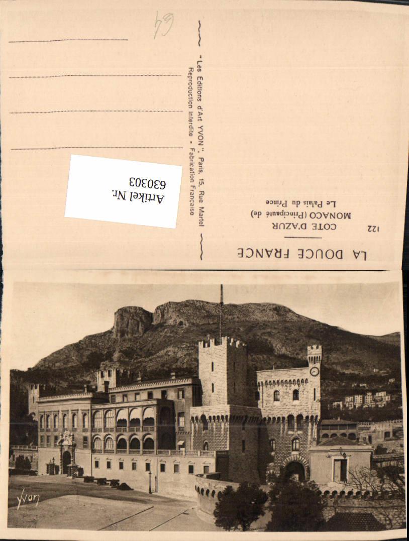 630303,Monaco Le Palais du Prince Cote d Azur 0