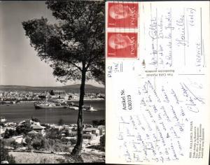 630319,Mallorca Palma Vista desde la Bonanova Schiffe Spain